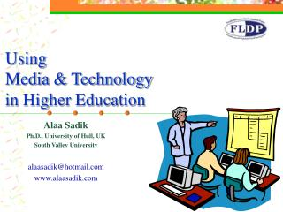 Using  Media & Technology in Higher Education