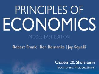 Chapter 20: Short-term Economic Fluctuations