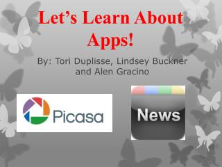 Let's Learn About Apps!