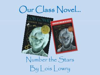 Our Class Novel…