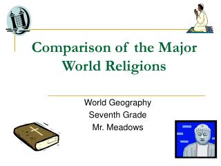 Comparison of the Major World Religions
