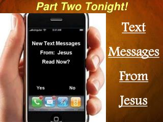 Text Messages From Jesus