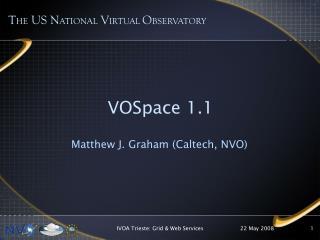 VOSpace 1.1