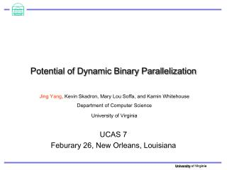 Potential of Dynamic Binary Parallelization