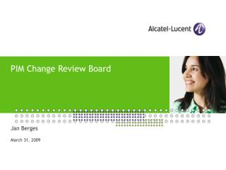 PIM Change Review Board