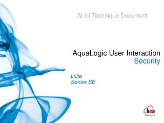 AquaLogic User Interaction  Security