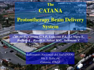 The CATANA Protontherapy Beam Delivery System