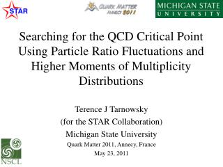 Terence J Tarnowsky  (for the STAR Collaboration) Michigan State University