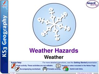 Weather Hazards Weather