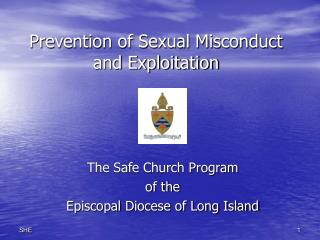 Prevention of Sexual Misconduct and Exploitation