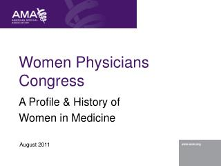 Women Physicians Congress
