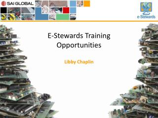 E-Stewards Training Opportunities
