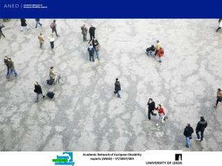 Academic Network of European Disability experts (ANED) – VT/2007/005