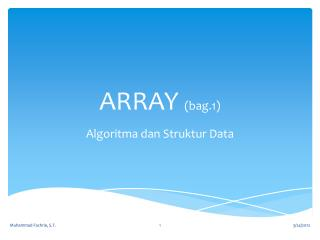ARRAY  (bag.1)