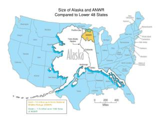 Gold – 19 million-acre Arctic National Wildlife Refuge (ANWR)