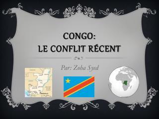 Congo: Recent Conflicts