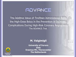 The Additive Value of Tirofiban Administered With