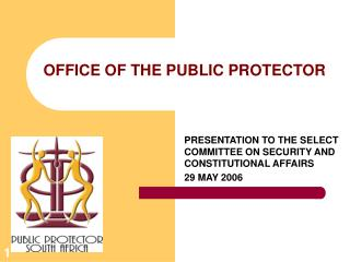 OFFICE OF THE PUBLIC PROTECTOR