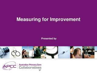 Measuring for Improvement