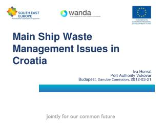 Main Ship Waste Management Issues in Croatia