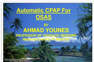 Automatic CPAP For OSAS