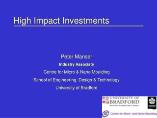 High Impact Investments