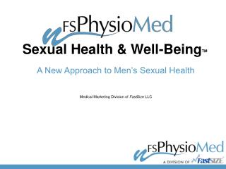 Sexual Health & Well-Being TM