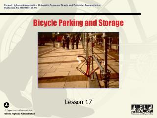 Bicycle Parking and Storage