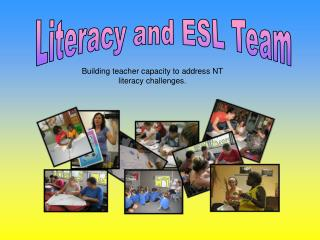 Literacy and ESL Team
