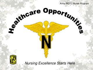 Healthcare Opportunities