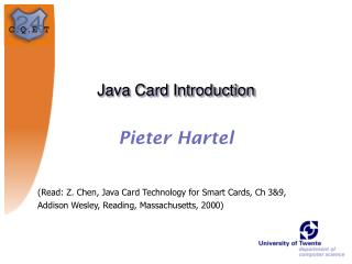 Java Card Introduction