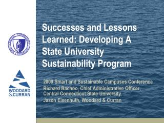 Successes and Lessons Learned: Developing A State University Sustainability Program