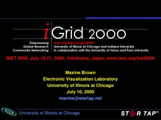 INET 2000, July 18-21, 2000, Yokohama, Japan, isoc/inet2000