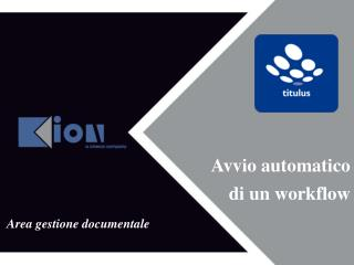 Area  gestione  documentale