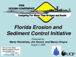 Florida Erosion and  Sediment Control Initiative