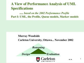 Murray Woodside Carleton University, Ottawa... November 2002