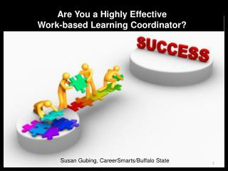 Are You a Highly Effective  Work-based Learning Coordinator?