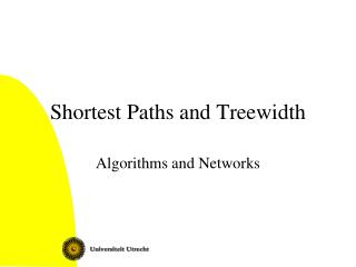 Shortest Paths and Treewidth