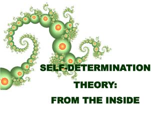 SELF-DETERMINATION THEORY: FROM THE INSIDE