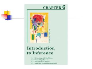 In this chapter we'll learn about 'confidence intervals.'