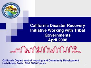 California Department of Housing and Community Development