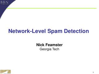 Network-Level Spam Detection