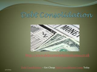 Debt Consolidation Even If You Have Poor Credit