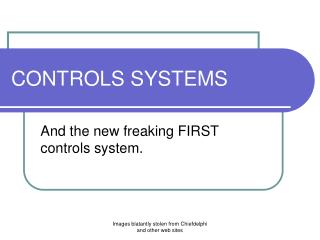 CONTROLS SYSTEMS