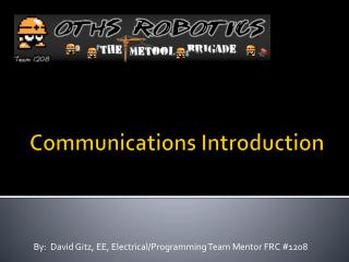 Communications Introduction