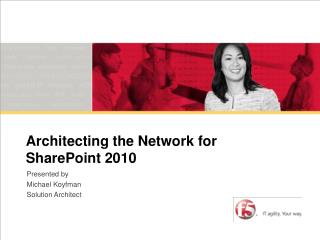 Architecting the Network for SharePoint 2010 2007