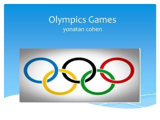 Olympics Games yonatan cohen