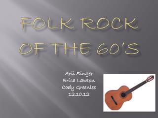 Folk Rock of the 60's