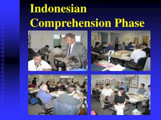 Indonesian Comprehension Phase