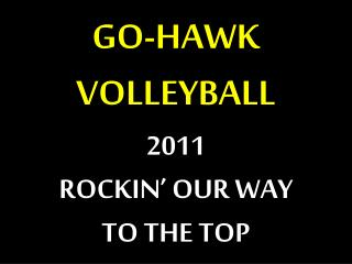 GO-HAWK VOLLEYBALL